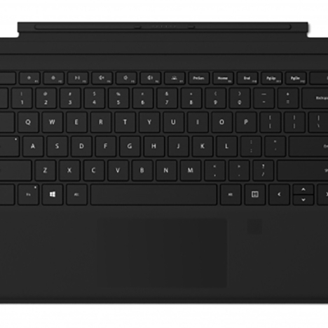 Surface Pro Type Cover with Fingerprint ID 2