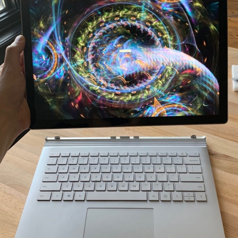Surface Book 2 ( 15 inch ) ( i7/16GB/512GB ) 3